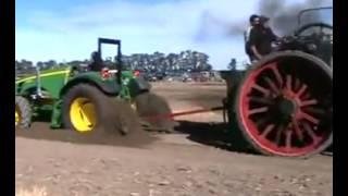 Buharlı Traktör vs John Deere